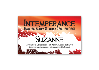 BCards Intemperance